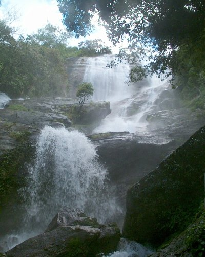 Wasserfall am Doi Ithanon