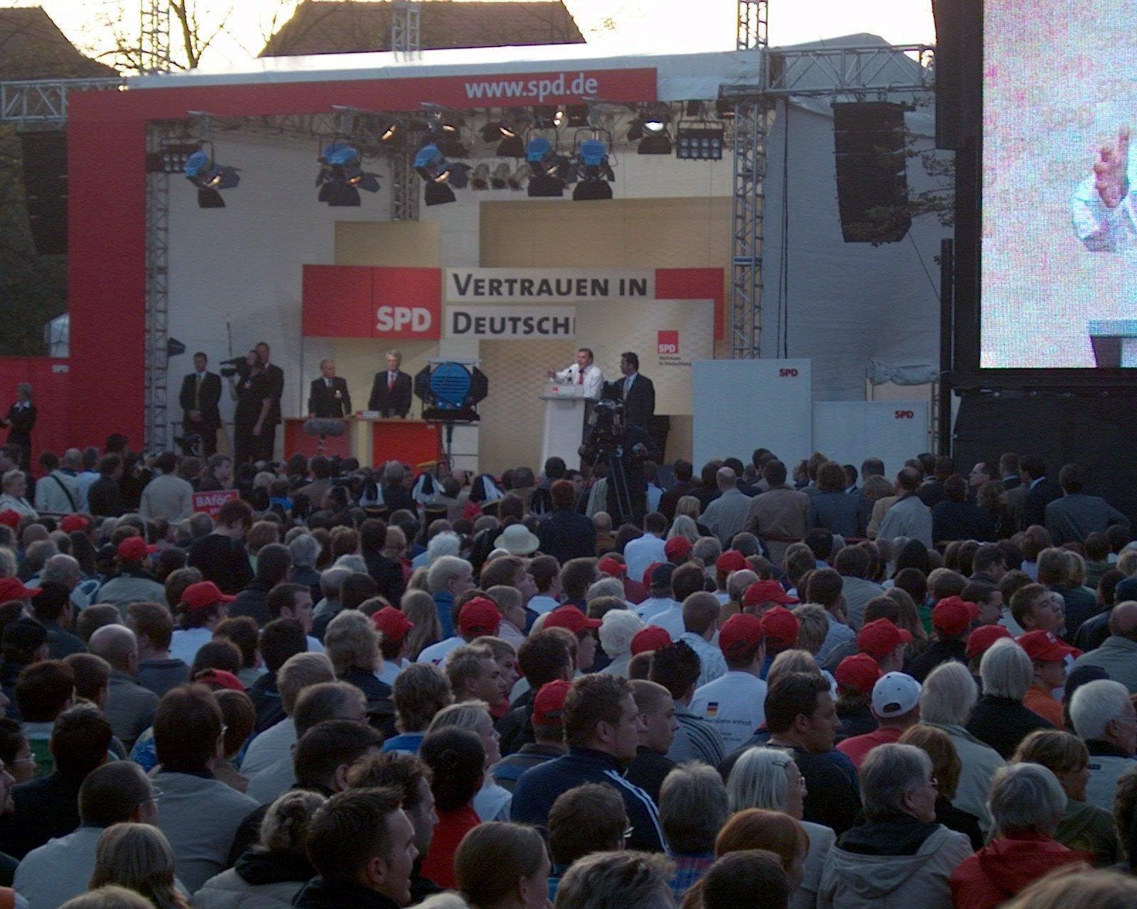 Gerhard Schröder in Münster