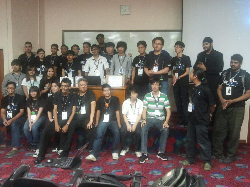 FUDCon KL 2012 volunteers
